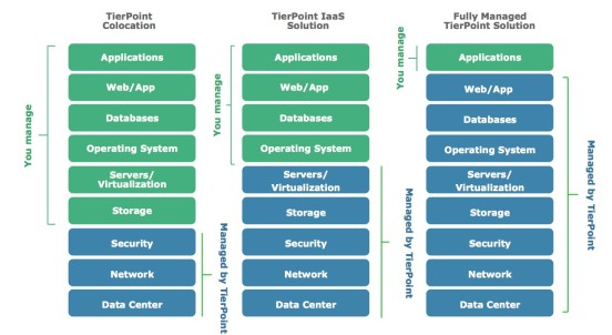 TierPoint Managed IT Solutions Graphic